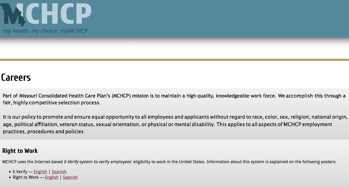 MCHCP/Missouri Consolidated Health Care Plan